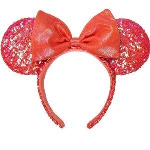 Disney Coral Minnie Ears